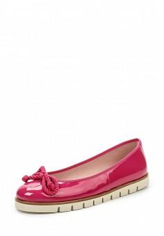 Балетки, Pretty Ballerinas, цвет: фуксия. Артикул: PR758AWRHD54. Премиум / Обувь / Балетки