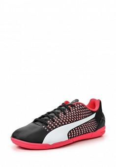 Бутсы зальные, Puma, цвет: черный. Артикул: PU053AUQOX69. Женская обувь / Кроссовки и кеды / Кроссовки