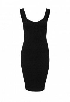 Платье, QED London, цвет: черный. Артикул: QE001EWIVZ19. Женская одежда / Платья и сарафаны / Летние платья
