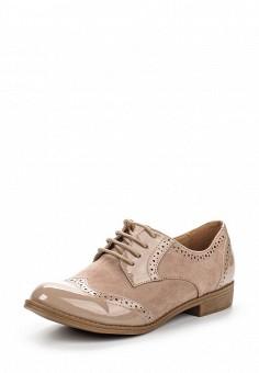 Ботинки, Queen Vivi, цвет: бежевый. Артикул: QU004AWSNU49. Женская обувь / Ботинки