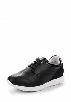 Кроссовки, Ralf Ringer, цвет: черно-белый. Артикул: RA084AWRRT22. Женская обувь / Кроссовки и кеды / Кроссовки