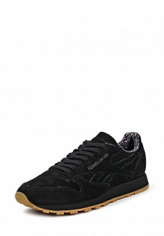 Кроссовки, Reebok Classics, цвет: черный. Артикул: RE005AUQJI52. Женская обувь / Кроссовки и кеды / Кроссовки