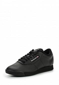 Кроссовки, Reebok Classics, цвет: черный. Артикул: RE005AWFSR28. Женская обувь / Кроссовки и кеды / Кроссовки