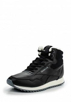 Кроссовки, Reebok Classics, цвет: черный. Артикул: RE005AWJVE69. Женская обувь / Кроссовки и кеды / Кроссовки