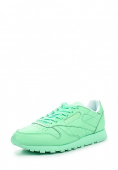 Кроссовки, Reebok Classics, цвет: мятный. Артикул: RE005AWQJI87. Женская обувь / Кроссовки и кеды / Кроссовки