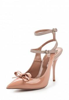 Туфли, Red Valentino, цвет: розовый. Артикул: RE025AWOGF47. Премиум / Обувь / Туфли