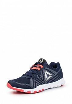Кроссовки, Reebok, цвет: синий. Артикул: RE160AWQJV77. Женская обувь / Кроссовки и кеды