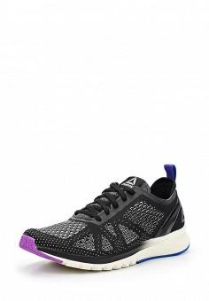 Кроссовки, Reebok, цвет: черно-белый. Артикул: RE160AWUPR29. Женская обувь / Кроссовки и кеды