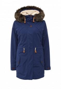 Парка, Roxy, цвет: синий. Артикул: RO165EWKCF31. Женская одежда / Верхняя одежда / Парки