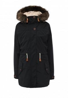 Парка, Roxy, цвет: черный. Артикул: RO165EWKCF33. Женская одежда / Верхняя одежда / Парки
