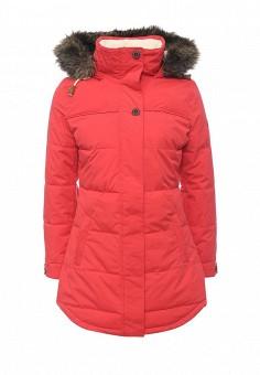 Куртка утепленная, Roxy, цвет: красный. Артикул: RO165EWKCF39. Женская одежда / Верхняя одежда / Пуховики и зимние куртки
