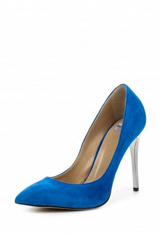 Туфли, Roberto Botticelli, цвет: синий. Артикул: RO233AWONQ72. Премиум / Обувь / Туфли