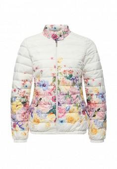Куртка утепленная, Sela, цвет: белый. Артикул: SE001EWOQA36. Женская одежда / Верхняя одежда / Демисезонные куртки