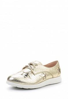Ботинки, Sergio Todzi, цвет: золотой. Артикул: SE025AWSNU85. Женская обувь / Ботинки / Низкие ботинки
