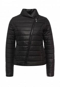 Куртка утепленная, SK House, цвет: черный. Артикул: SK007EWPQU51. Женская одежда / Верхняя одежда / Демисезонные куртки