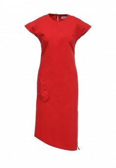 Платье, Sonia by Sonia Rykiel, цвет: красный. Артикул: SO018EWRIU70. Женская одежда / Платья и сарафаны / Летние платья