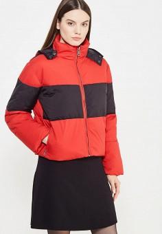 Куртка, Sonia by Sonia Rykiel, цвет: красный. Артикул: SO018EWTDF16. Женская одежда / Верхняя одежда / Пуховики и зимние куртки