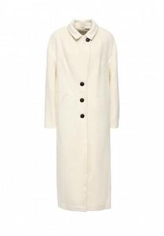 Пальто, Soia & Kyo, цвет: белый. Артикул: SO036EWLZL34. Премиум / Одежда / Верхняя одежда / Пальто