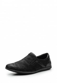Лоферы, Tesoro, цвет: черный. Артикул: TE947AMQCI41. Мужская обувь / Туфли / Лоферы