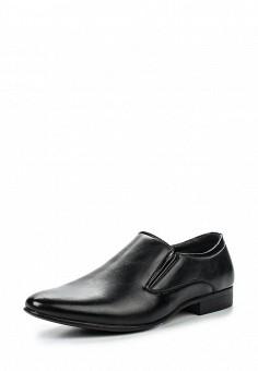Лоферы, Tesoro, цвет: черный. Артикул: TE947AMQCI75. Мужская обувь / Туфли / Лоферы