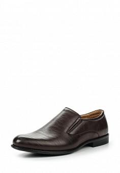Лоферы, Tesoro, цвет: коричневый. Артикул: TE947AMQCI83. Мужская обувь / Туфли / Лоферы