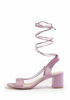 Босоножки, Topshop, цвет: розовый. Артикул: TO029AWSQI17. Женская обувь / Босоножки