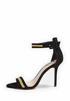 Босоножки, Topshop, цвет: черный. Артикул: TO029AWTQX26. Женская обувь / Босоножки