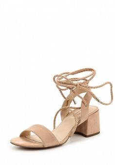 Босоножки, Topshop, цвет: розовый. Артикул: TO029AWUBU96. Женская обувь / Босоножки