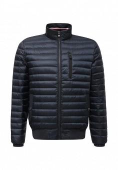 Пуховик, Tommy Hilfiger, цвет: синий. Артикул: TO263EMTPM92. Мужская одежда / Верхняя одежда / Пуховики и зимние куртки