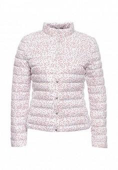 Пуховик, Tommy Hilfiger, цвет: белый. Артикул: TO263EWOLO75. Женская одежда / Верхняя одежда / Пуховики и зимние куртки