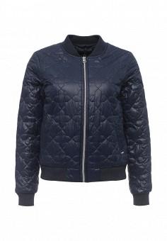 Куртка, Tom Tailor Denim, цвет: синий. Артикул: TO793EWRPA26. Женская одежда / Верхняя одежда / Демисезонные куртки