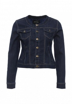 Куртка джинсовая, Top Secret, цвет: синий. Артикул: TO795EWQKA64. Женская одежда / Верхняя одежда / Джинсовые куртки