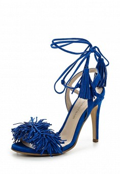 Босоножки, Trussardi Jeans, цвет: синий. Артикул: TR016AWOOA83. Премиум / Обувь / Босоножки