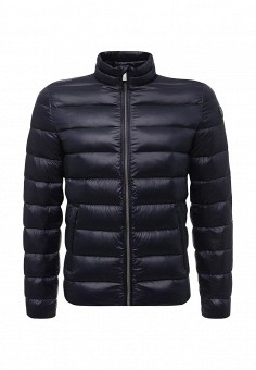 Пуховик, Trussardi Jeans, цвет: синий. Артикул: TR016EMUWE36. Мужская одежда / Верхняя одежда / Пуховики и зимние куртки