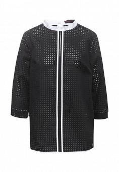 Блуза, Trussardi Jeans, цвет: черный. Артикул: TR016EWOOP74. Женская одежда