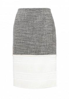 Юбка, Trussardi Jeans, цвет: серый. Артикул: TR016EWOOP79. Женская одежда