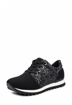 Кроссовки, Tulipano, цвет: черный. Артикул: TU005AWPSK95. Женская обувь / Кроссовки и кеды / Кроссовки