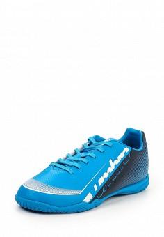 Бутсы зальные, Umbro, цвет: синий. Артикул: UM463AMQZH30. Мужская обувь / Кроссовки и кеды