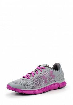 Кроссовки, Under Armour, цвет: серый. Артикул: UN001AWOJA87. Женская обувь / Кроссовки и кеды