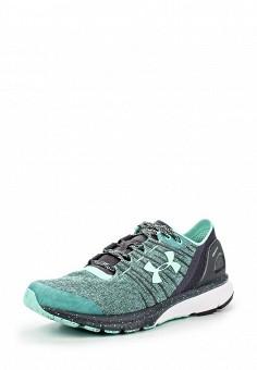 Кроссовки, Under Armour, цвет: зеленый. Артикул: UN001AWOJA96. Женская обувь / Кроссовки и кеды
