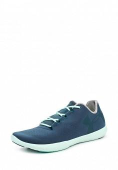 Кроссовки, Under Armour, цвет: синий. Артикул: UN001AWOJB01. Женская обувь / Кроссовки и кеды