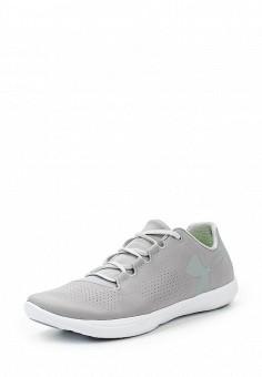 Кроссовки, Under Armour, цвет: серый. Артикул: UN001AWOJB02. Женская обувь / Кроссовки и кеды