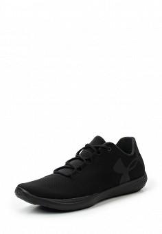 Кроссовки, Under Armour, цвет: черный. Артикул: UN001AWTVL11. Женская обувь / Кроссовки и кеды