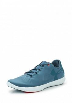 Кроссовки, Under Armour, цвет: голубой. Артикул: UN001AWTVL12. Женская обувь / Кроссовки и кеды