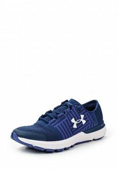 Кроссовки, Under Armour, цвет: синий. Артикул: UN001AWTVL22. Женская обувь / Кроссовки и кеды