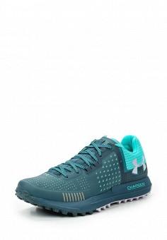 Кроссовки, Under Armour, цвет: зеленый. Артикул: UN001AWTVM35. Женская обувь / Кроссовки и кеды