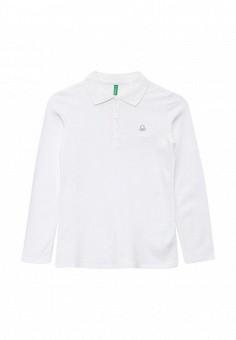 Поло, United Colors of Benetton, цвет: белый. Артикул: UN012EGKUD38. Девочкам / Одежда для девочек