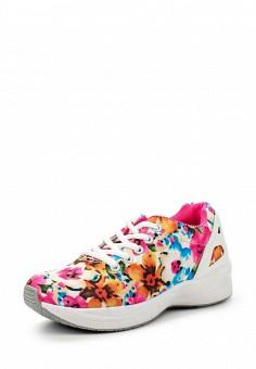Кроссовки, Via Giulia, цвет: мультиколор. Артикул: VI042AWHOD50. Женская обувь / Кроссовки и кеды / Кроссовки