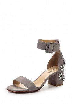 Босоножки, Vitacci, цвет: серый. Артикул: VI060AWPTS22. Женская обувь / Босоножки