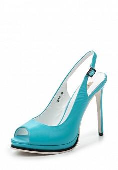 Босоножки, Vitacci, цвет: голубой. Артикул: VI060AWPTW21. Женская обувь / Босоножки